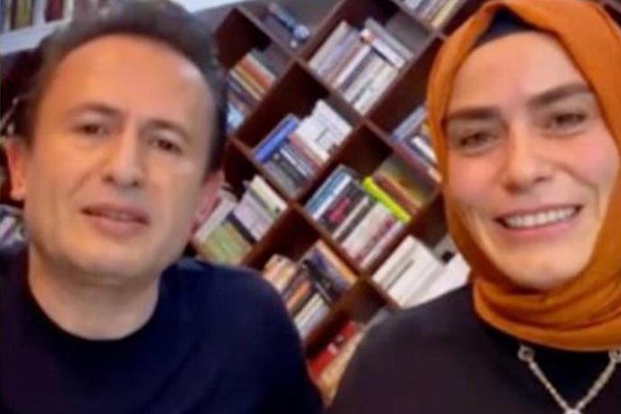 """Tuzla Belediye Başkanı Dr. Şadi Yazıcı, eşi Dr. Fatma Yazıcı ile birlikte Tuzla Belediyesi'nin İnstagram sayfasında her hafta devam eden 'Aslı Hünel ile Rengarenk"""" programına katıldı."""